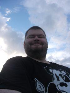 Selfie, mit freundlicher Genehmigung von Tore Herr.