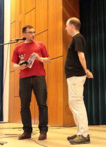 Laudator und Preisträger
