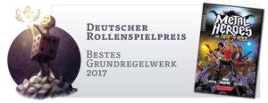 Deutscher Rollenspielpreis: Bestes Grundregelwerk 2017