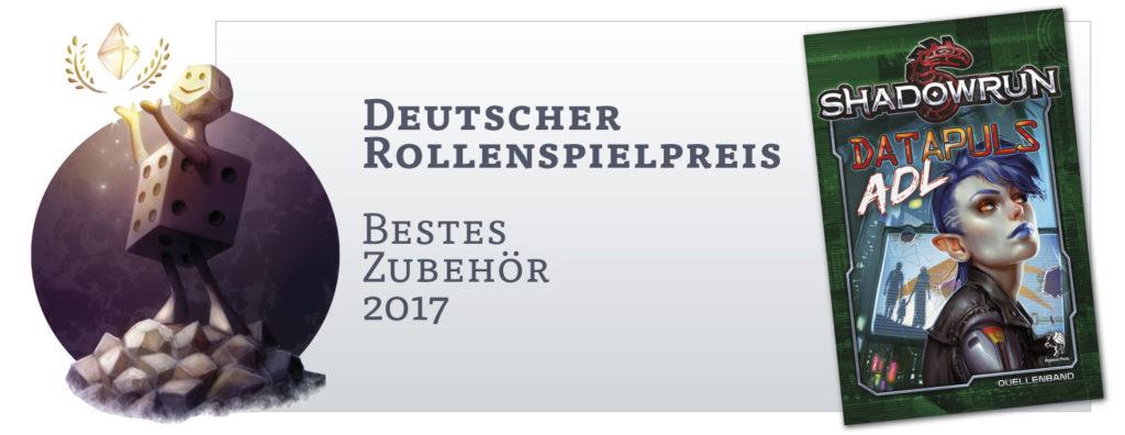 Deutscher Rollenspielpreis: Bestes Zubehör 2017