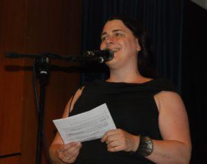 Laudatorin Lena Falkenhagen
