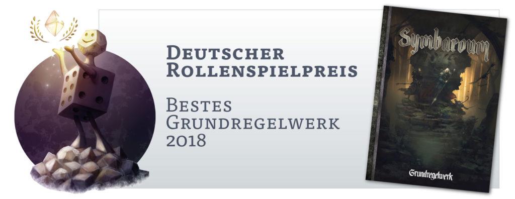 Deutscher Rollenspielpreis: Bestes Grundregelwerk 2018 für Symbaroum